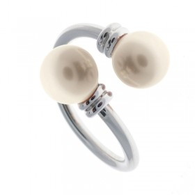 Sortija White Pearl